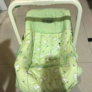 2 in 1 kicking plastic chair for babies