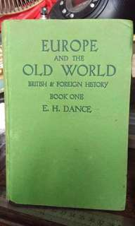 Old book/Europe and the Old World