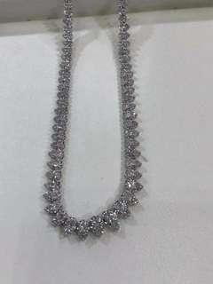 5ct鑽石頸鍊