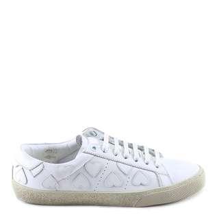 🚚 Saint Laurent Court Classic SL/01 Heart Sneakers 愛心小白鞋