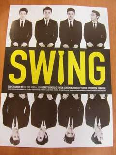 (官方)Super Junior M - Swing poster