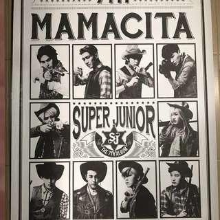 (官方)Super Junior MAMACITA poster
