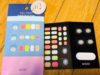New from KOREA!! Instant long lasting gel pedi kit