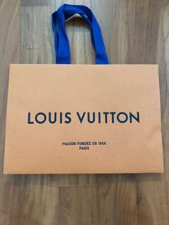 Louis Vuitton Paper Bag (free postage)