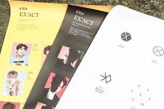(官方)EXO EX'ACT poster