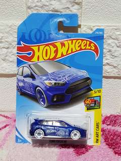 Hot Wheels 2018 Ford Fucus RS