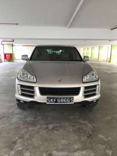2010 Cayenne 3.6A V6 - SG SCRAP CAR COLLECT AT JB