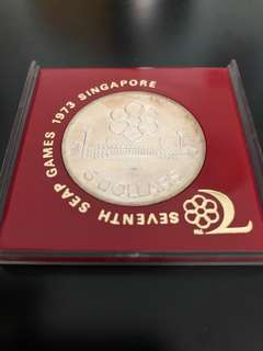 Vintage Coin 7th SEAP Games 1973 Singapore