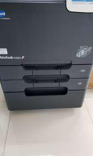 多功能公司Minota 影印打印連fax 2年合約 July 2020 $497/Month.... Minolta Commercial Printer Contract Take Over