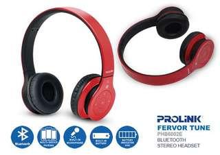 Brand New Prolink Bluetooth stereo headset PHB6002E(sealed)