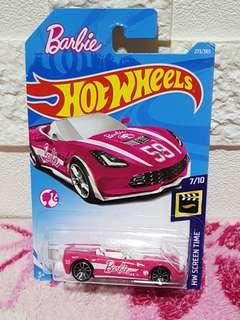 "Hot Wheels 14 Corvette Stingray ""Barbie"""