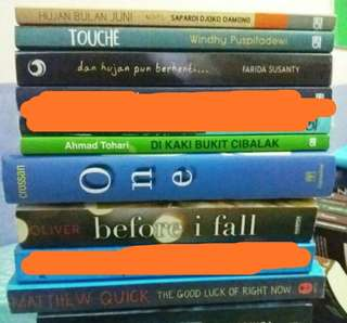 Preloved Books | Buku Bekas