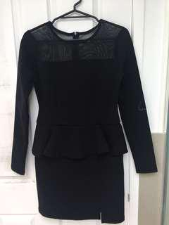 Black Dress size8-10 winter