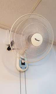 Wall fan.