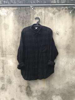 🚚 H&M 格紋襯衫