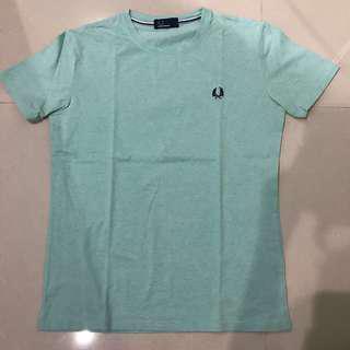 Fred perry tosca kaos t shirt biru