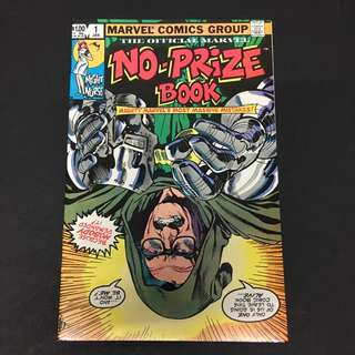 No-Prize Book 1 Marvel Comics Book Stan Lee Movie Avengers