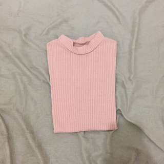 pastle pink top clothing
