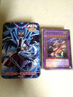 Yugioh Cards + tin case