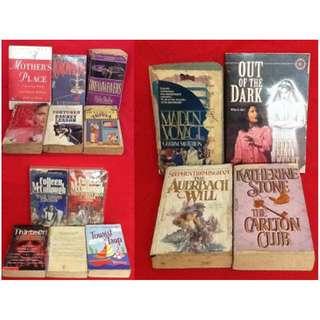 BUNDLE SALE: Assorted Novels (A)