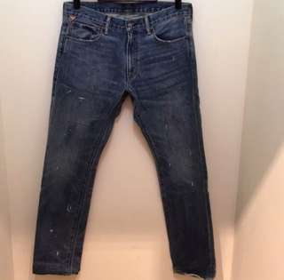 🚚 denim & supply slim jean 尺寸33x32
