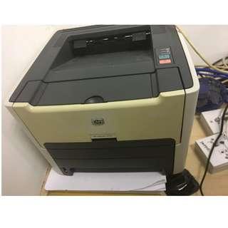 HP laser jet 1320n laser printer 黑白鐳射打印機