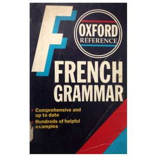 FRENCH GRAMMAR BY OXFORD REFERENCE