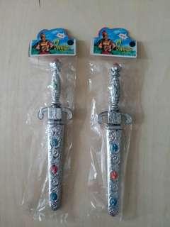 香港懷舊 玩具寶石劍