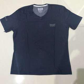Levi's kaos t shirt navy biru