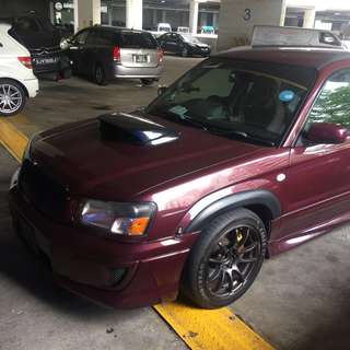 Subaru Forester SG5 Long Term Lease