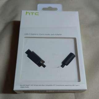 HTC USB Type-C 轉 3.5mm 轉換頭
