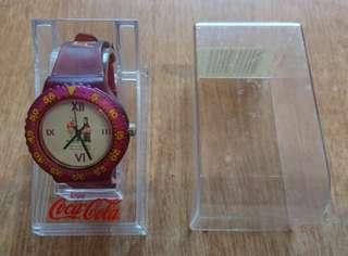 中古 Coca-cola 可口可樂 亞特蘭大奧運手錶 請自行出價
