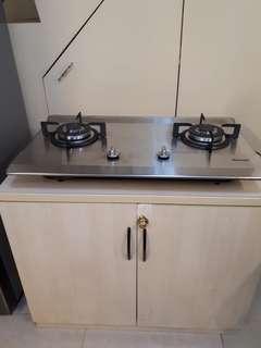 stove and hood
