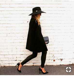 Tony Bianca Leola stiletto heels black patent leather