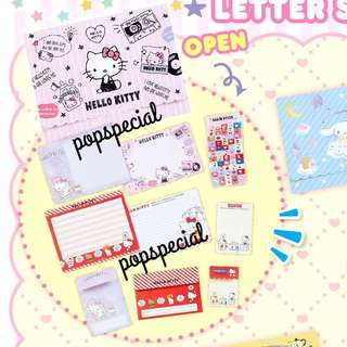 Last Letter Set @$8.80 Hello Kitty Writing Paper
