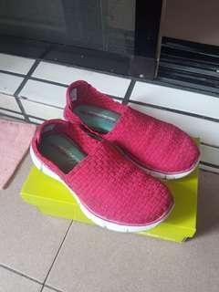 skechers編織鞋