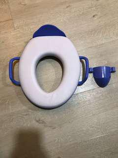 The first years toilet seat cushioned for kids