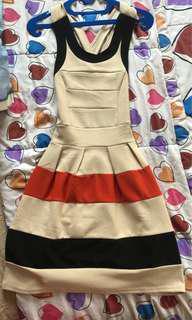 dress colorblock