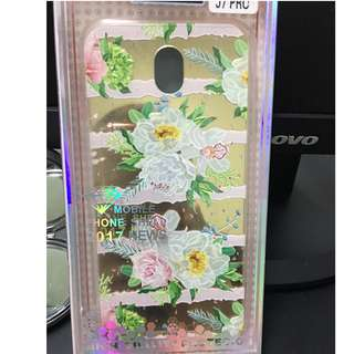 J7 Pro Floral Case