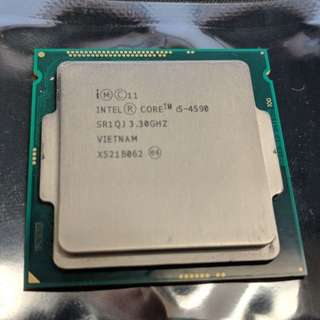 i5-4590 Quad-Core 3.3 GHz Processor Intel