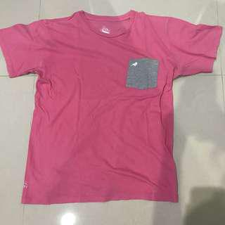 Finch pink grey abu t shirt kaos