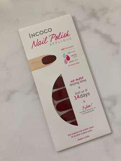Incoco Nail Polish Stick On