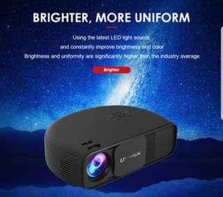 100%全新正貨 高清 LCD投影機  Projector.  Android or Non Android version