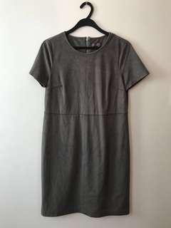 Suede Grey Vince Camuto Dress