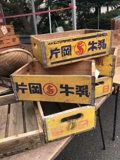 日本舊牛奶箱