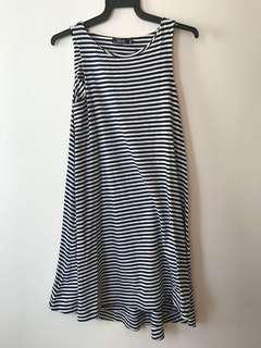 Kate Spade Saturday Sleeveless Striped Dress