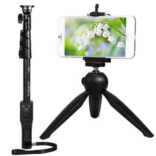 Monopod 1188 With Mini Tripod 228