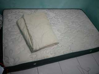 spring bed by alexa 120x200 + bed cover Casa De Lane Luxury