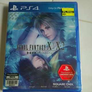 Ps4 Playstation Final fantasy X, X2 ,HDMI Remaster, Brand new Sealed