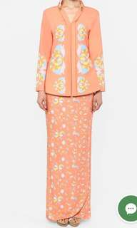 (FOR SALE) Mimpikita Scilla Classic Kebaya in Salmon